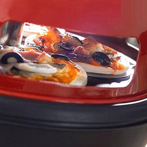 Mini Pizza Maker Party pizzas Cuisine Four Quatre ouvertures Living-XXL